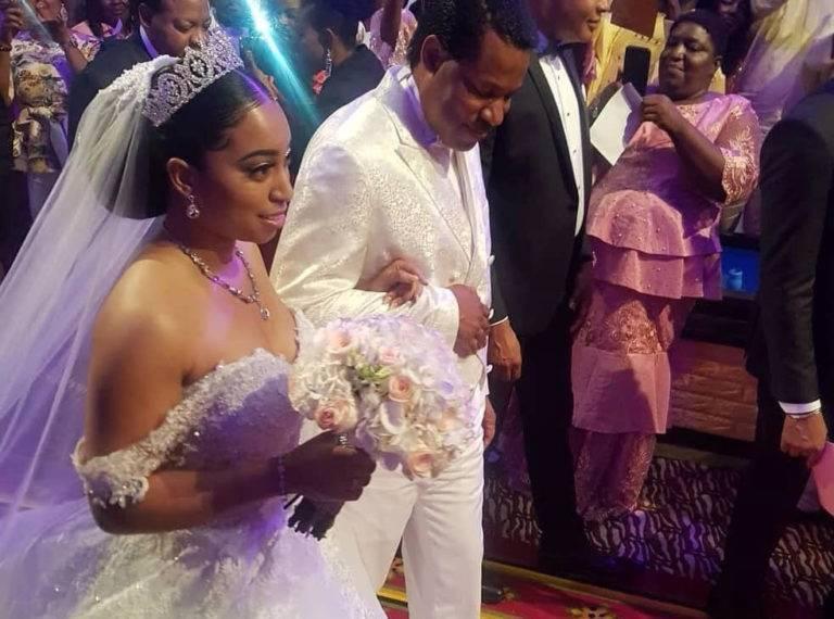 Pastor Chris' Daughter, Sharon Oyakhilome Glamorous Wedding