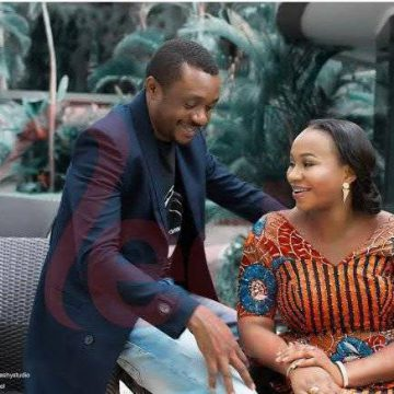 Nathaniel Bassey's Wife Reveals Why She Frowns In The Morning
